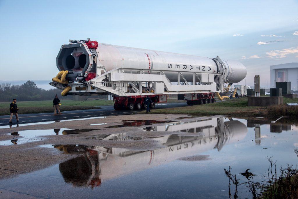 Antares Rocket for Northrop Grumman CRS-11 Rolls to Launch ...