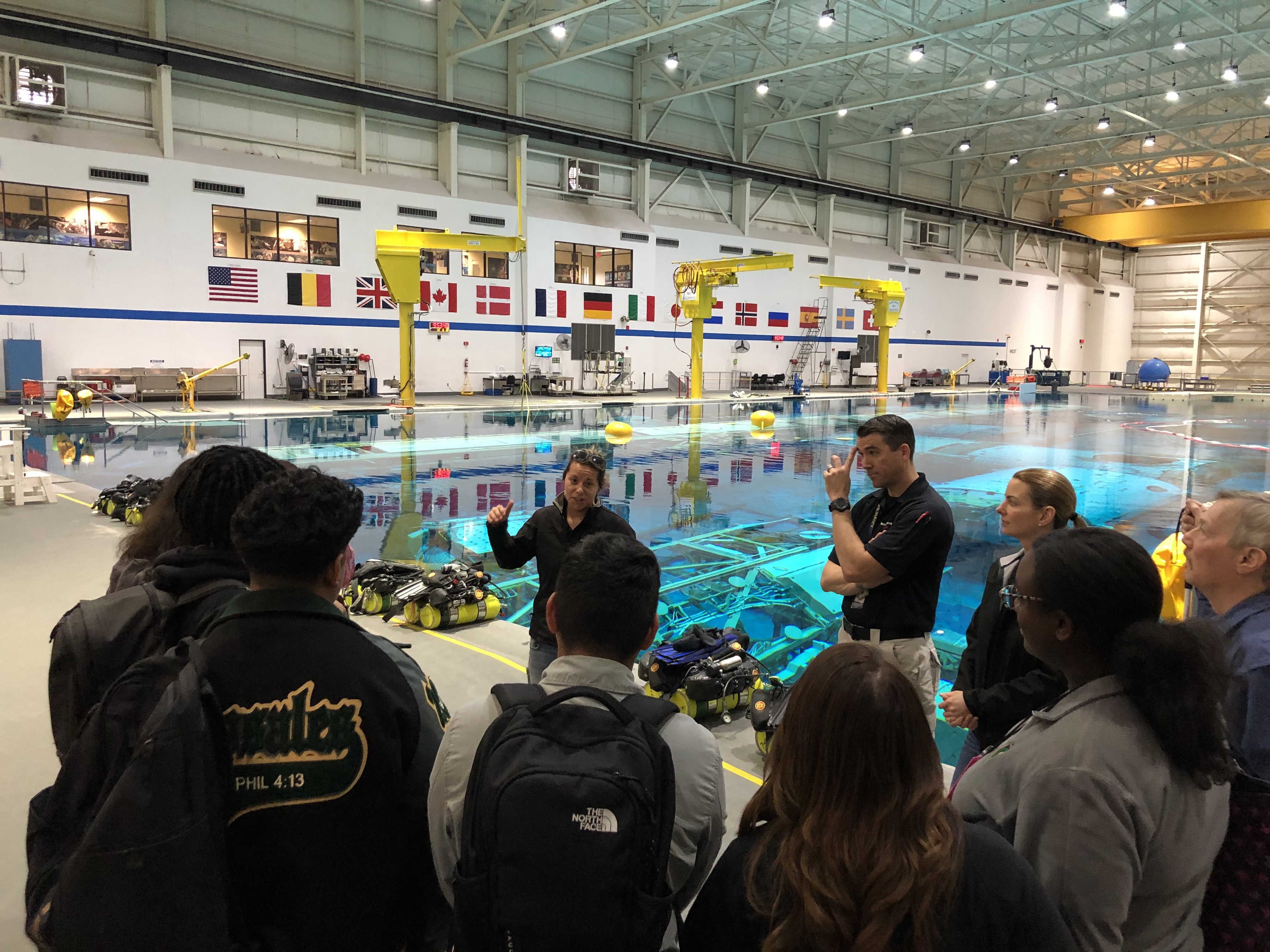 Johnson Space Center Hosts High School Student Tour And Info Session