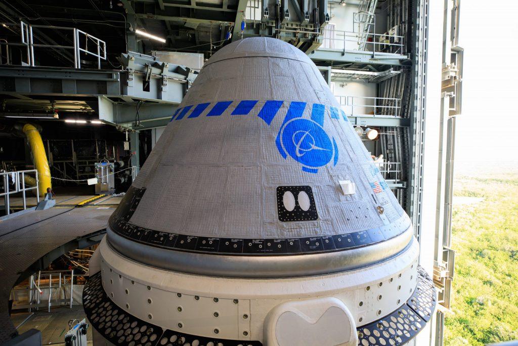NASA Boeing OFT-2 Starliner spacecraft