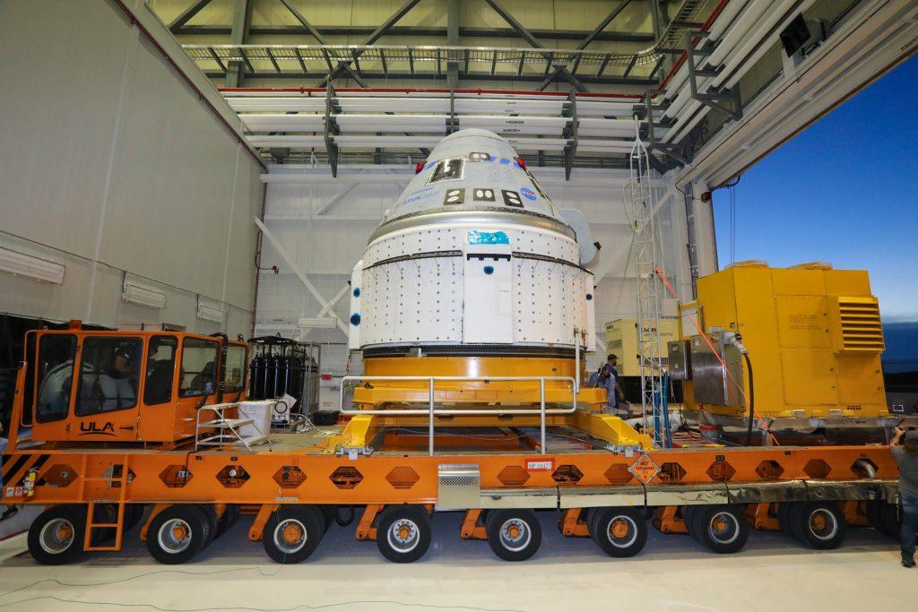 OFT-2 Starliner spacecraft
