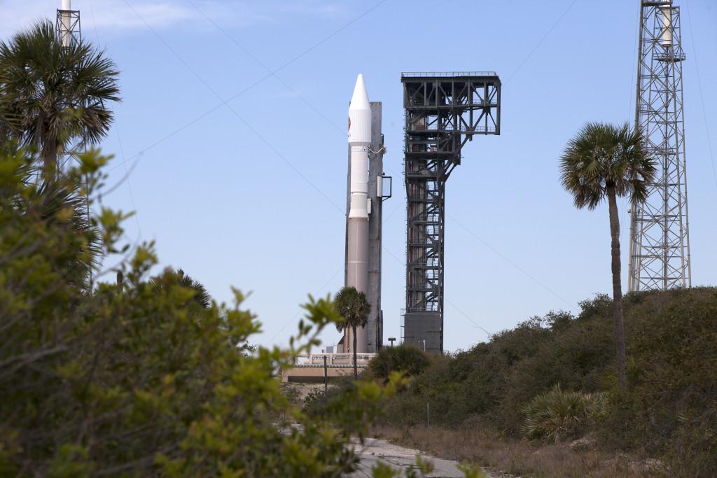 Cygnus Orbital ATK OA-6 Rollout