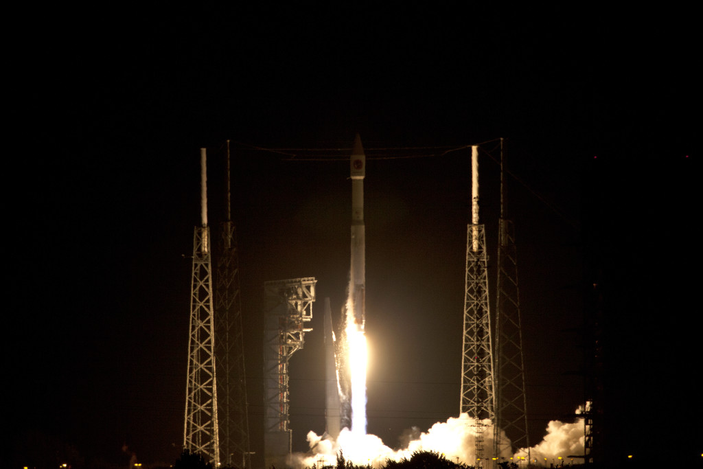 Cygnus Orbital ATK OA-6 Liftoff