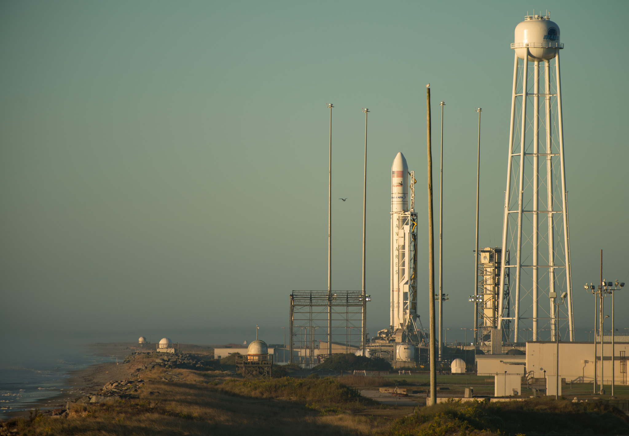 government resume sample%0A The Orbital ATK Antares rocket  with the Cygnus spacecraft onboard  is seen  on launch