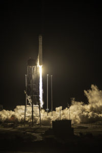 The Orbital ATK Antares rocket, with the Cygnus spacecraft on board, launches from Pad-0A, Monday, Oct. 17, 2016 at NASA's Wallops Flight Facility in Virginia. Orbital ATK's sixth contracted cargo resupply mission with NASA to the International Space Station is delivering over 5,100 pounds of science and research, crew supplies and vehicle hardware to the orbital laboratory and its crew. Photo Credit: (NASA Wallops/Patrick Black)