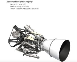 illustration of rocket engine