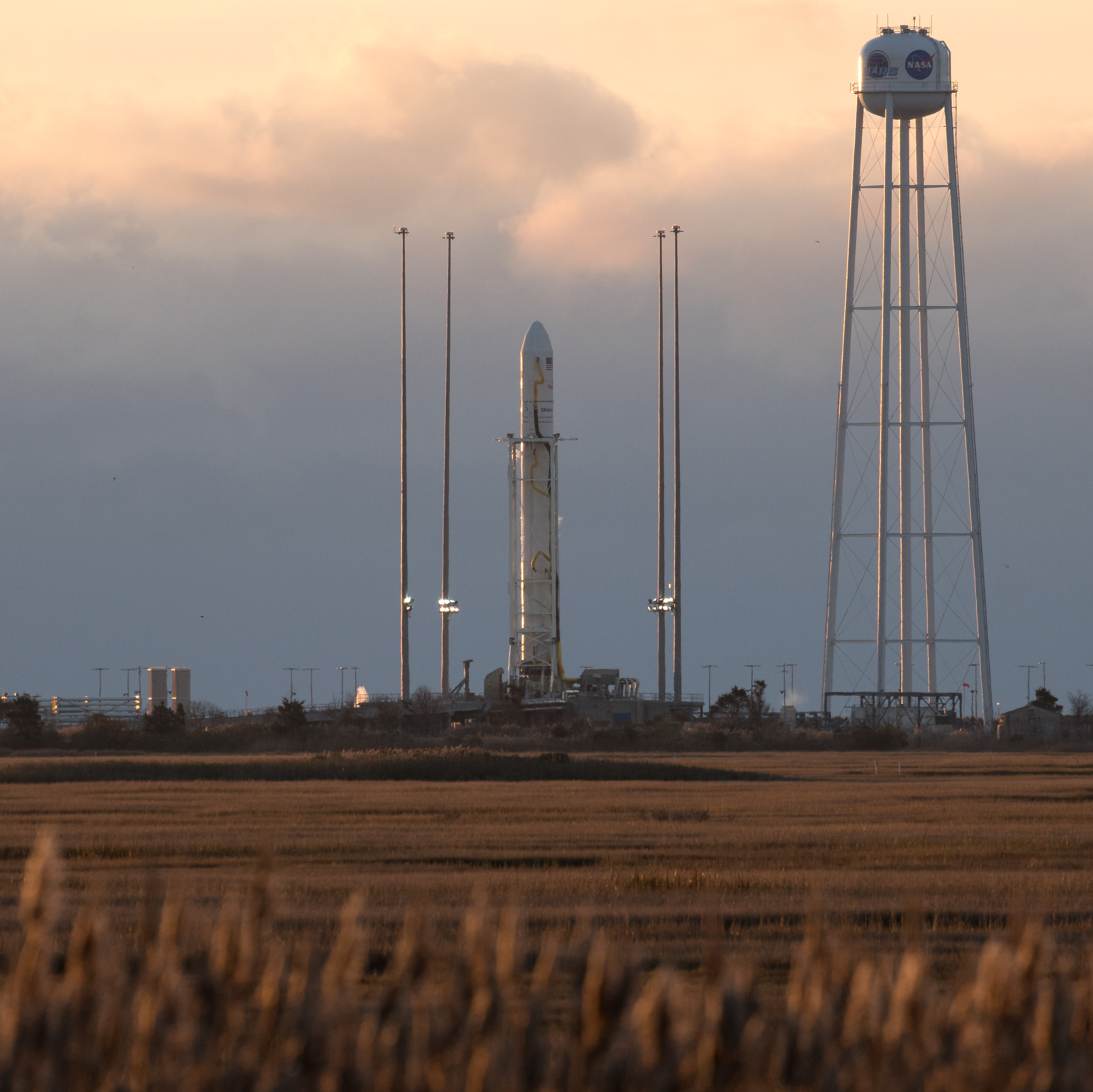 government resume sample%0A The Orbital ATK Antares rocket  with the Cygnus spacecraft aboard  is seen  on launch Pad A  Saturday  Nov            at NASA u    s Wallops Flight  Facility in