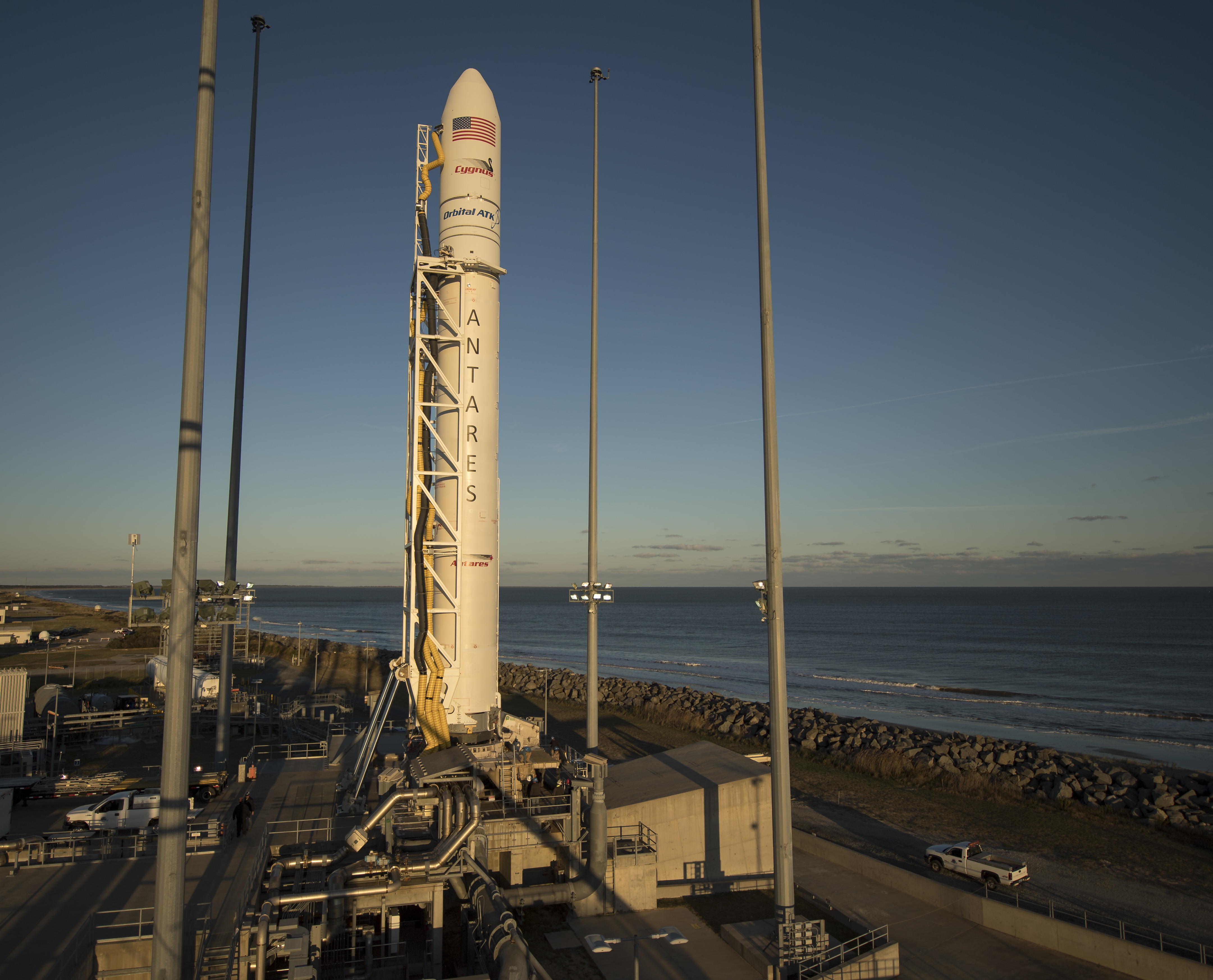 government resume sample%0A The Orbital ATK Antares rocket  with the Cygnus spacecraft aboard  is seen  on launch Pad A  Friday  Nov           at NASA u    s Wallops Flight Facility  in