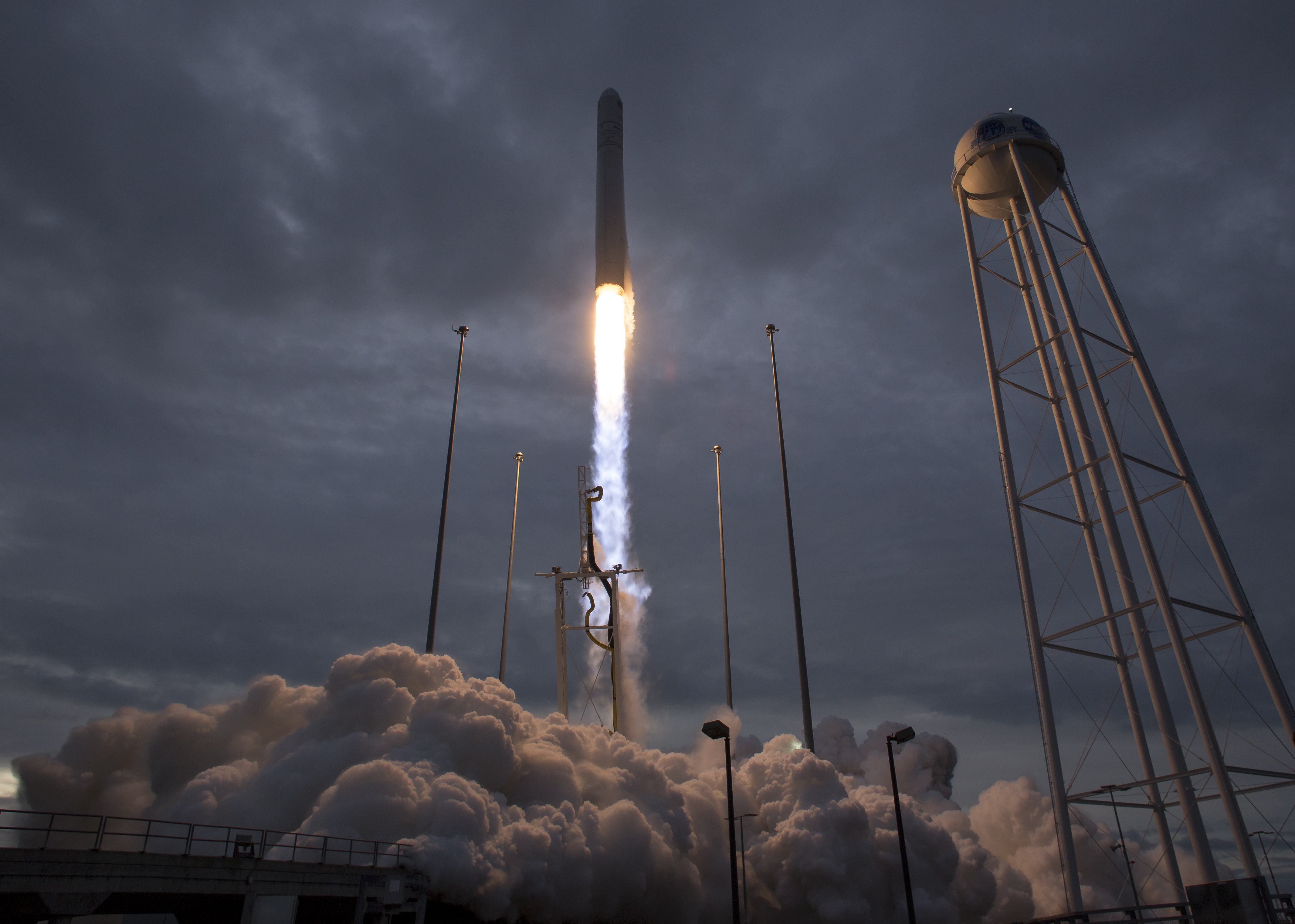government resume sample%0A The Orbital ATK Antares rocket  with the Cygnus spacecraft aboard  launches  from Pad A  Sunday  Nov            at NASA u    s Wallops Flight Facility in