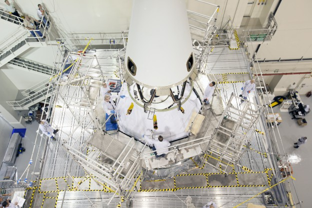 Launch Abort System Installed for Orion Mission