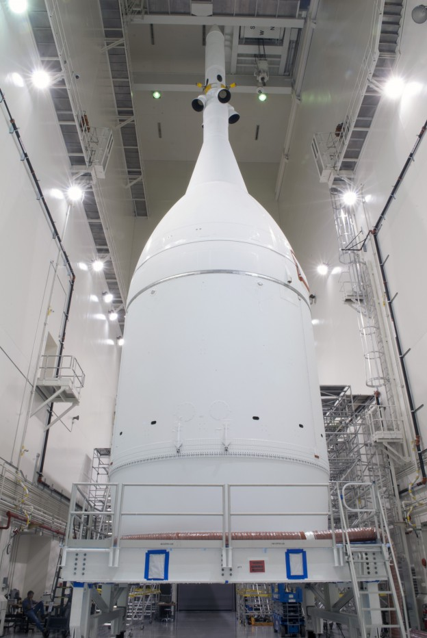 NASA's Orion to Roll out to Launch Pad for First Flight