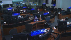 Blue Flight Control Room Houston