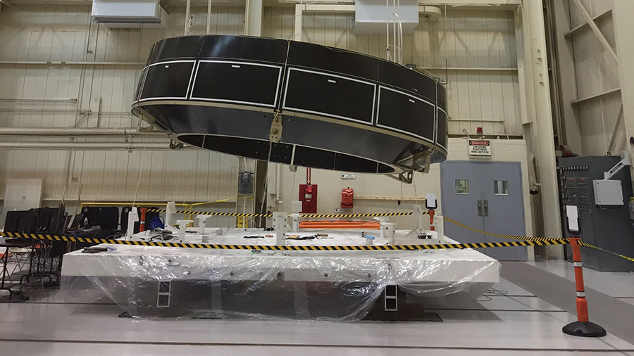The Orion crew module adapter structural test article
