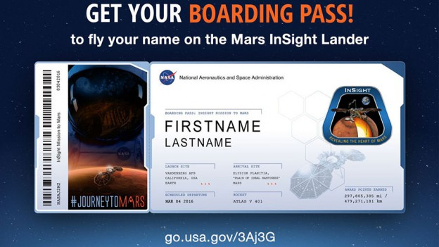 Get your Boarding Pass!