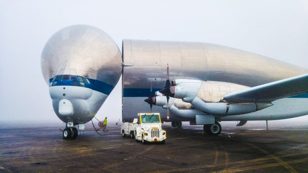 NASA's Super Guppy aircraft