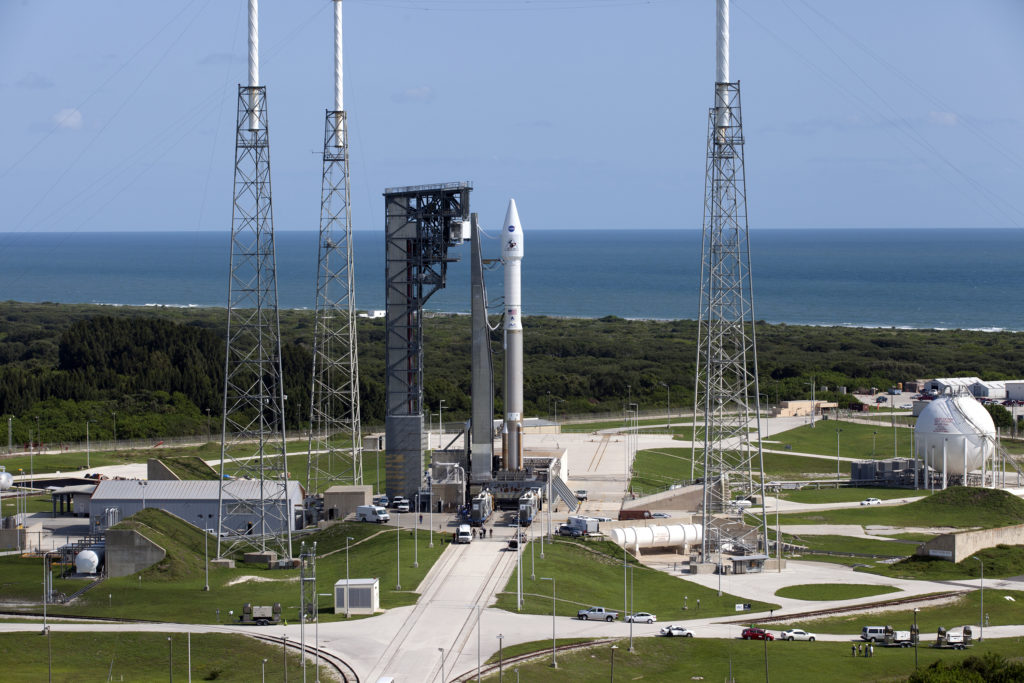 OSIRIS-REx rollout to the Pad 41 for the upcoming launch.
