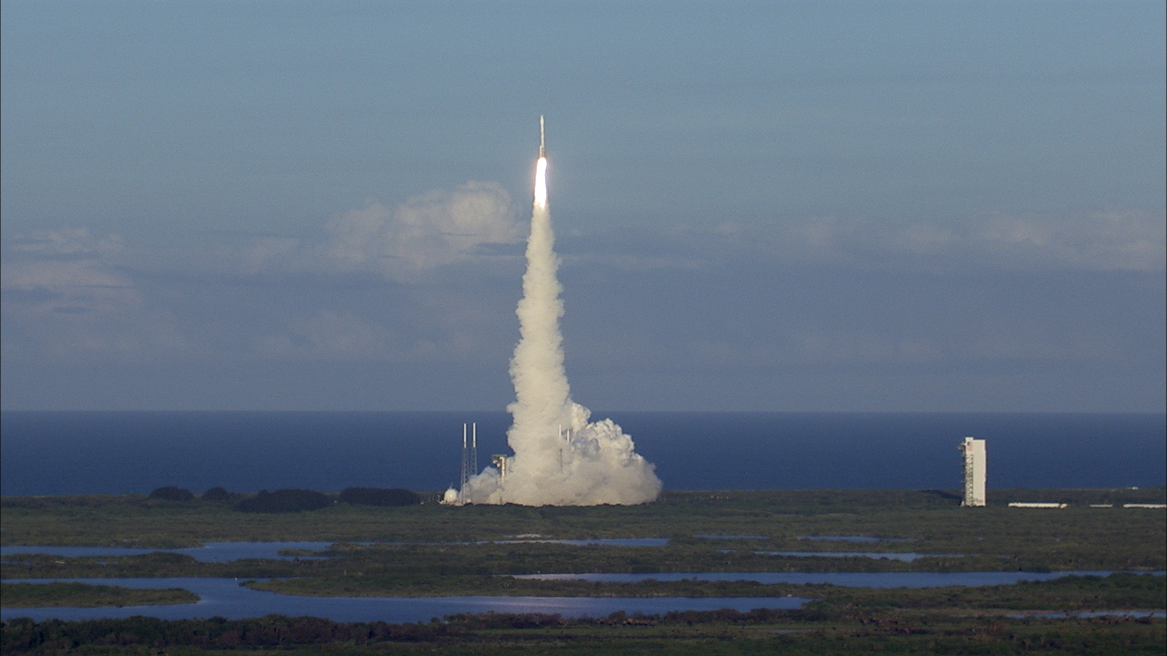 Liftoff of Atlas V carrying OSIRIS-REx