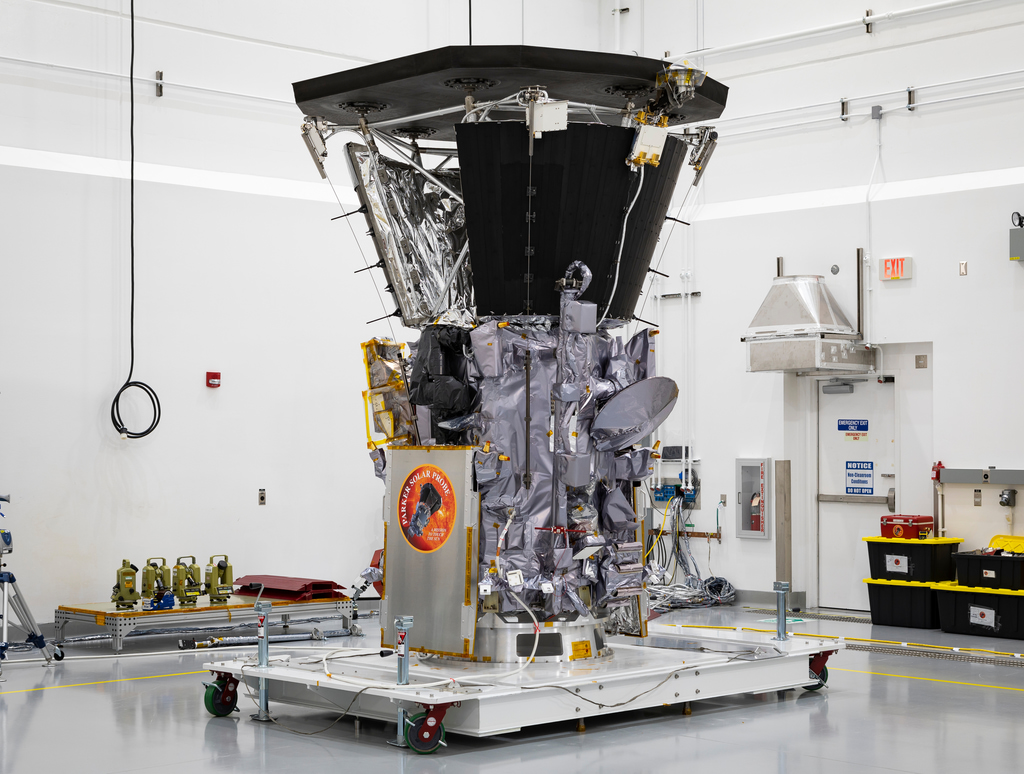 Parker Solar Probe in Astrotech Space Operations in Titusville, Florida.