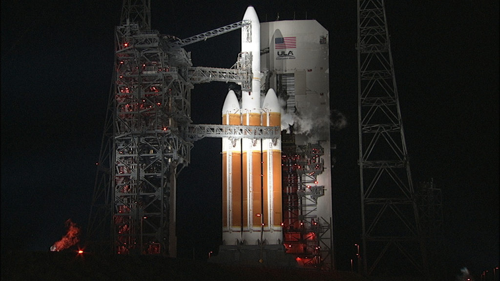 ULA Delta IV Heavy on Space Launch Complex 37.