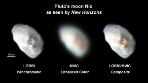 Pluto's Moon Nix as seen by New Horizons