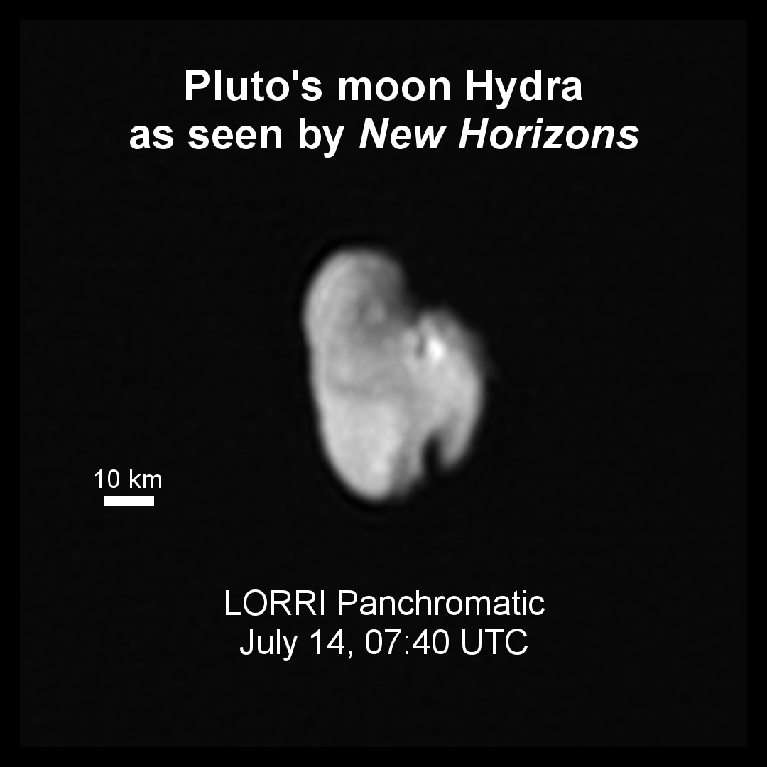 Pluto's Small Moons Nix And Hydra