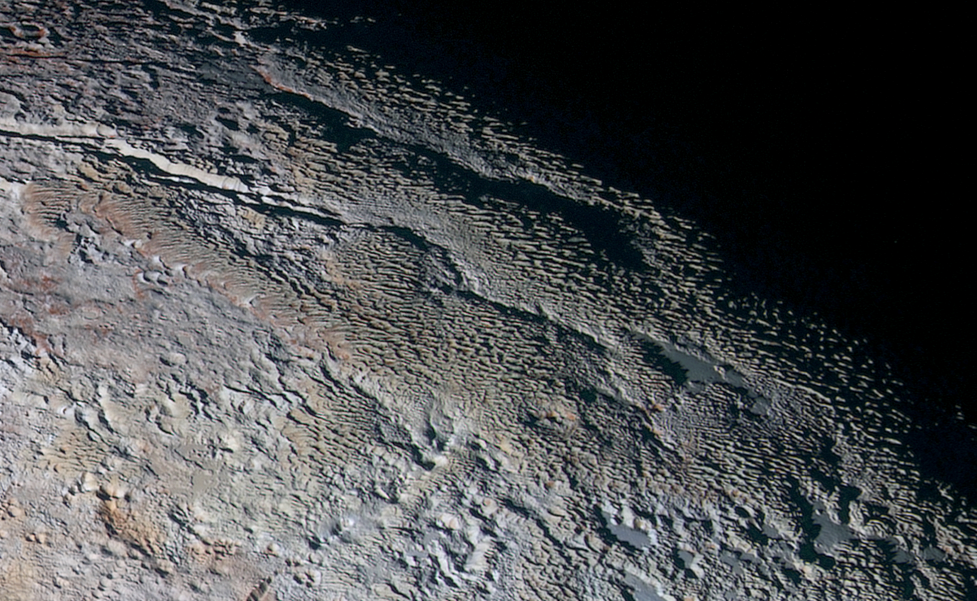 The Bladed Terrain of Tartarus Dorsa