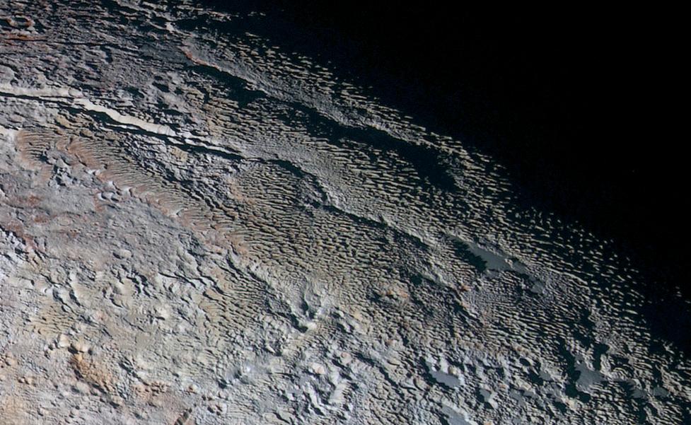 The Bladed Terrain of Tartarus Dorsa