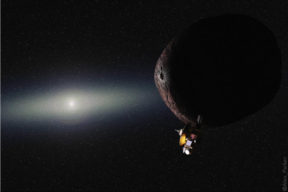 artists concept of 2014 MU69