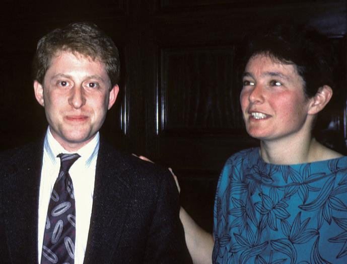 Alan Stern and Fran Banenal