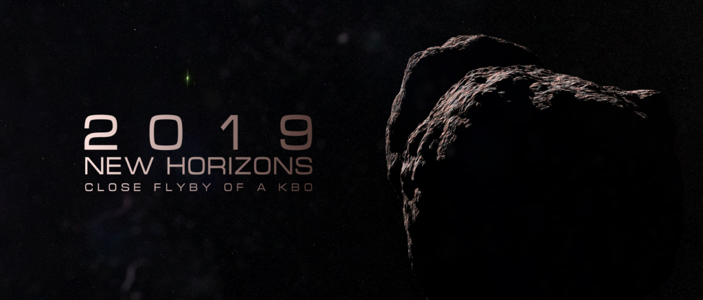2019 New Horizons Close Flyby of a KBO