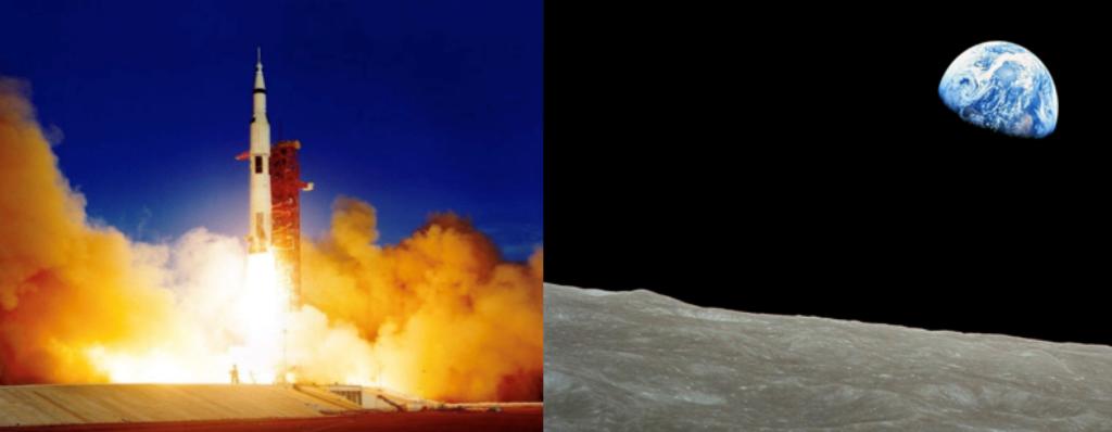 The Apollo 8 mission happened 50 years ago this holiday season. Image credits: NASA.