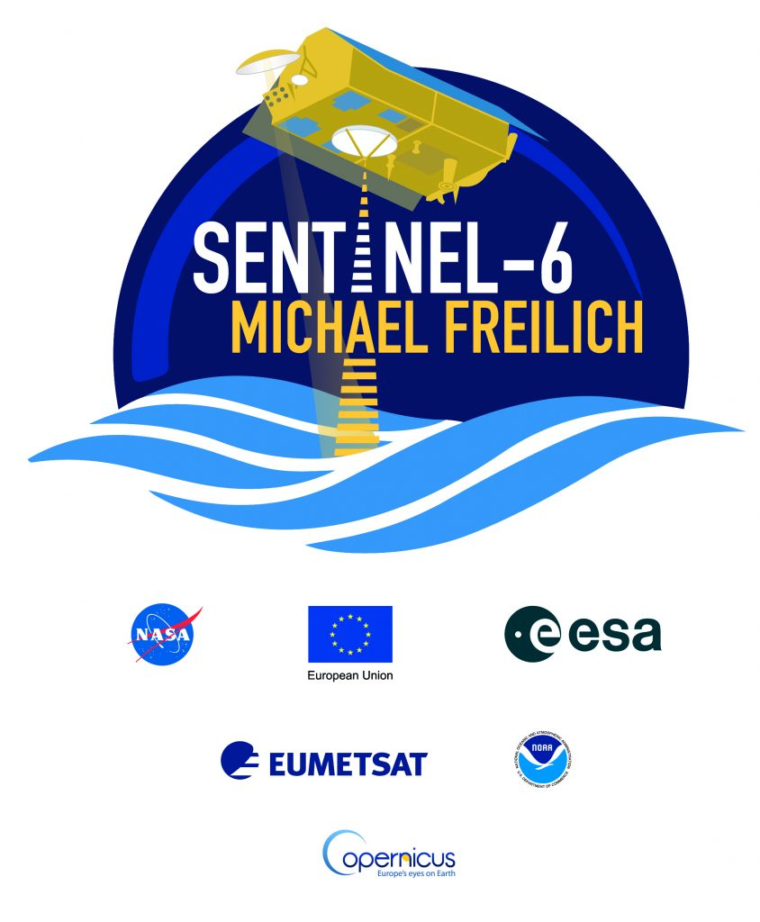 Sentinel-6 Michael Freilich sticker