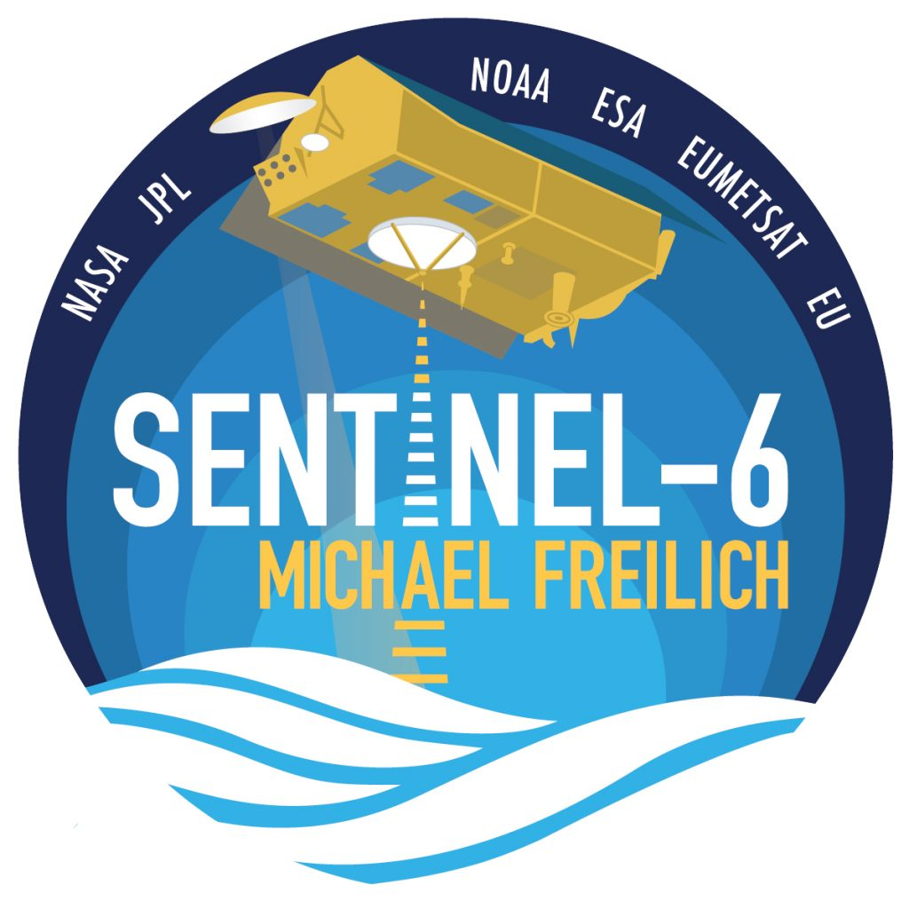 The Sentinel-6 Michael Freilich mission patch