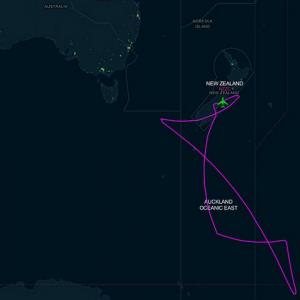 SOFIA's flight path