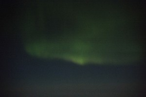 Aurora australis spotted by the SOFIA team.