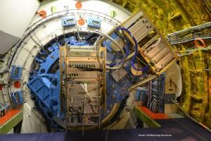 The GREAT instrument installed on SOFIA's telescope. Photo: NASA/USRA/SOFIA/Greg Perryman.