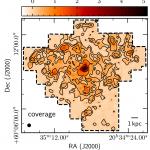 [CII] 158 µm map of the Fireworks Galaxy