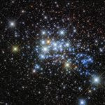 Hubble image of Westerlund 1