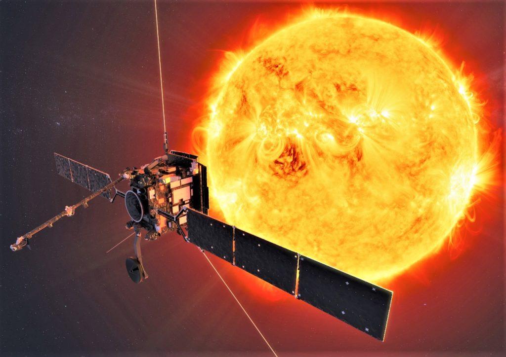 Illustration of Solar Orbiter