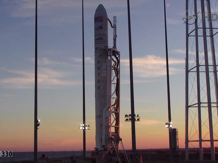 Sunset at Launch Pad