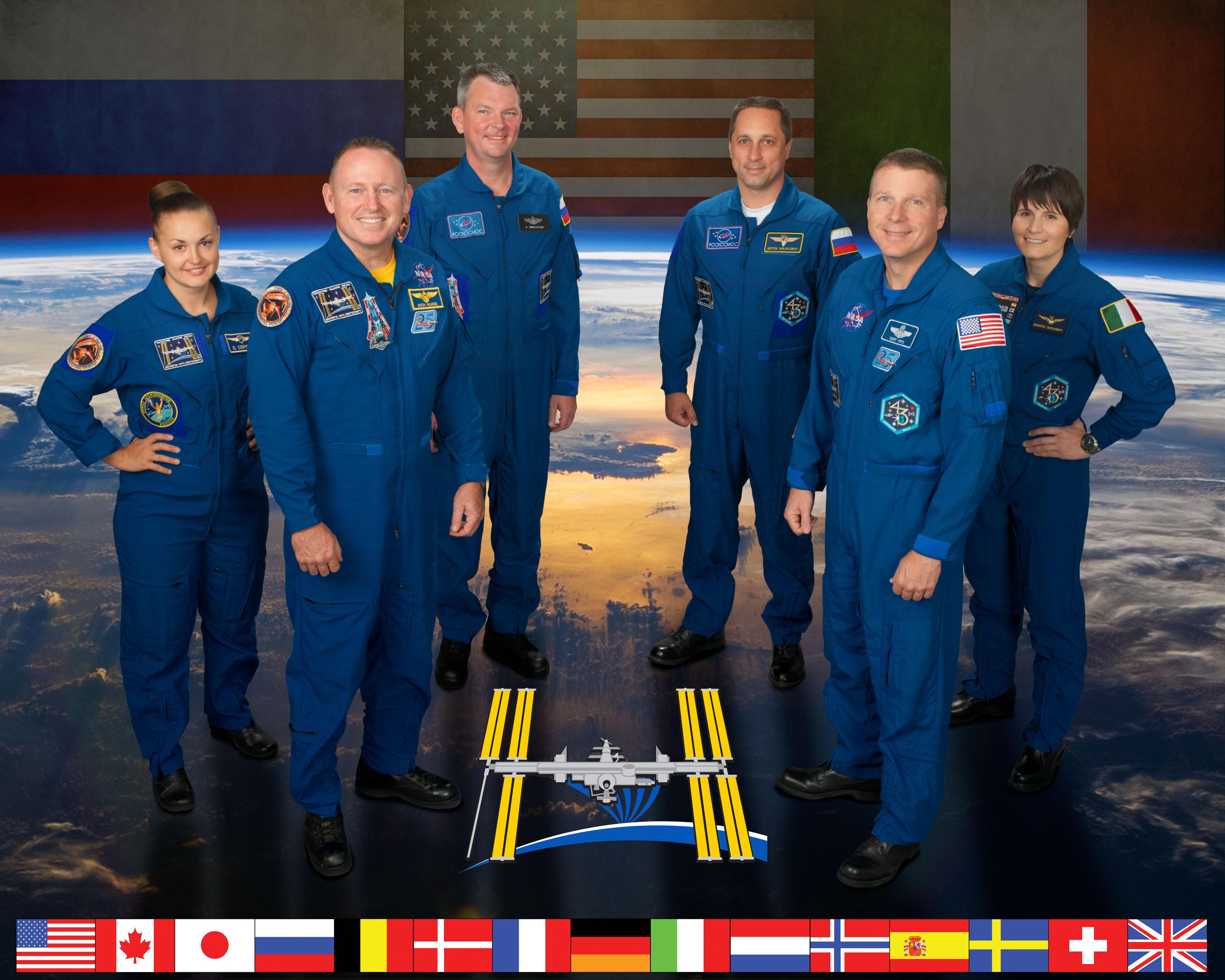 Expedition 42 Crew Portrait