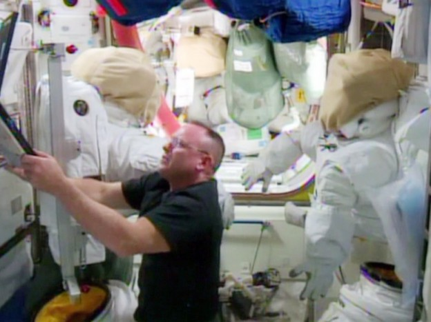 Virts and Wilmore Preparing for Trio of Spacewalks
