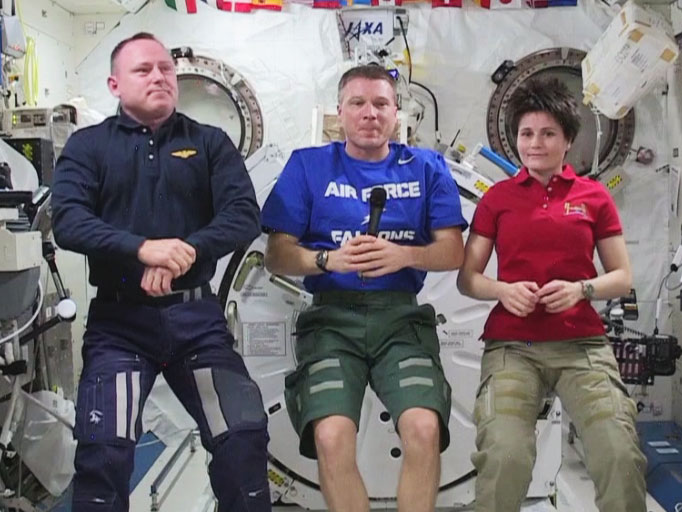 NASA and ESA Astronauts