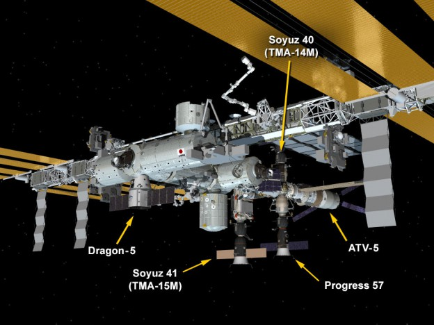 Dragon Readied for Launch, European Ship Prepped for Departure