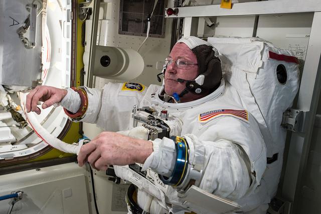 U.S. astronaut Barry Wilmore