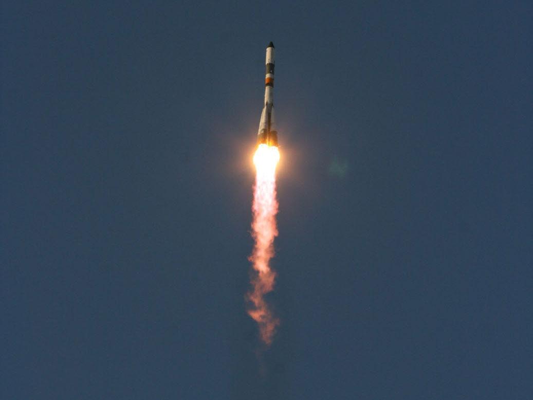 Progress 43 Spacecraft Launches