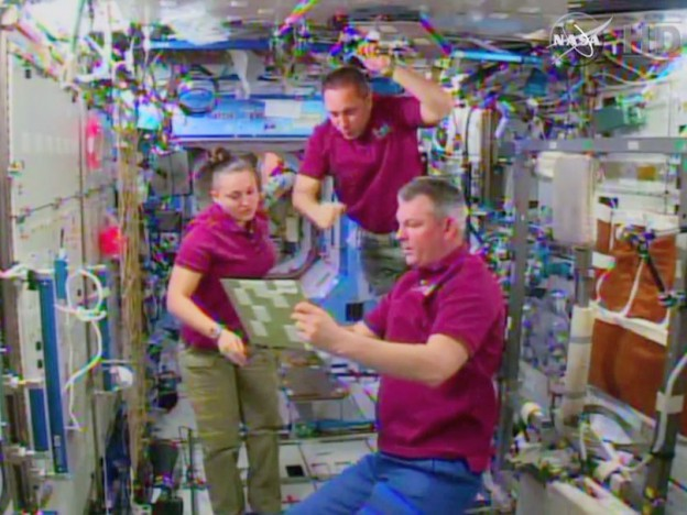First of Three Spacewalks Now Set for Saturday