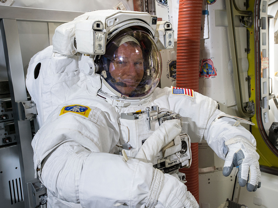 U.S. Astronaut Terry Virts