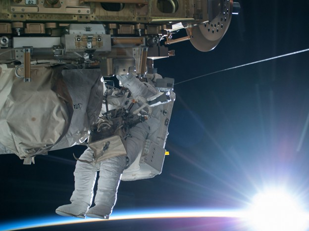 Wilmore, Virts Get Ready for Second Spacewalk