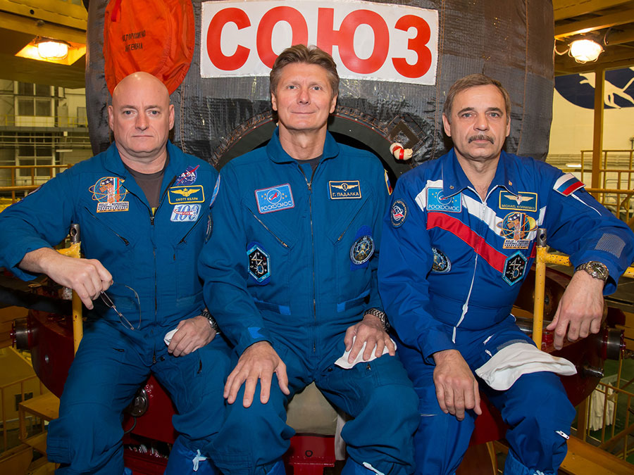 Soyuz TMA-16M Crew Members