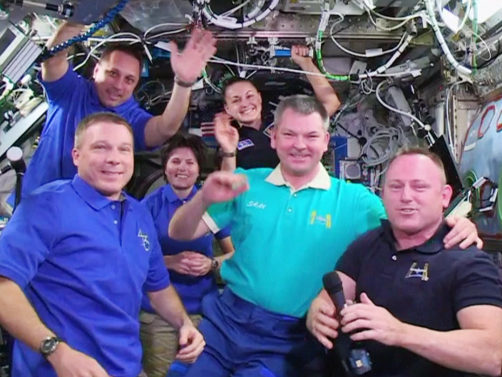 Expedition 42 Change of Command
